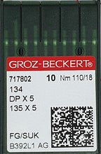 Load image into Gallery viewer, GROZ-BECKERT QUILTING NEEDLES 134 FG/SUK SET OF 10 NEEDLES