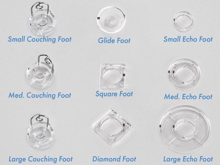 9-Piece Foot Attachment Set