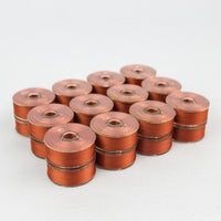 Load image into Gallery viewer, DecoBob™ Prewound Longarm Bobbins by Wonderfil Single Colour Box