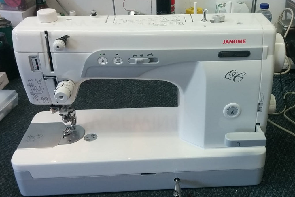 JANOME 1600P - QC SEWING MACHINE AND QUILTING MACHINE – Know-How ...