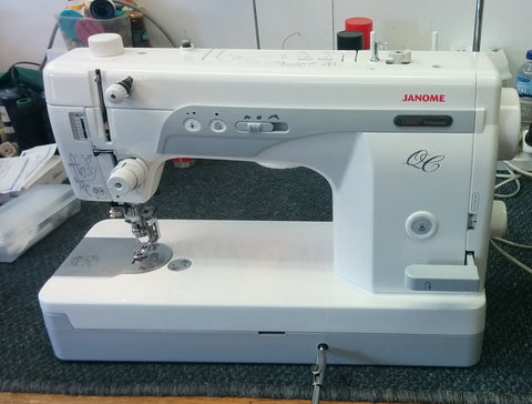 JANOME 1600P - QC SEWING MACHINE AND QUILTING MACHINE