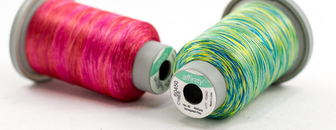 Affinity Variegated Polyester No. 40 - Know How Sewing Essenitals