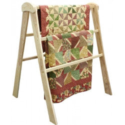 QUILT DISPLAY RACK