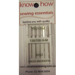 GROZ-BECKERT MICROTEX NEEDLES H-M BX5