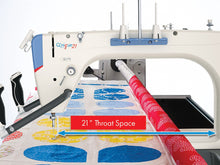 Load image into Gallery viewer, Q'nique 21 Longarm Quilting Machine