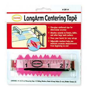 Long Arm centering tape
