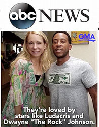 ABC News Maui Cookie Lady and Ludacris