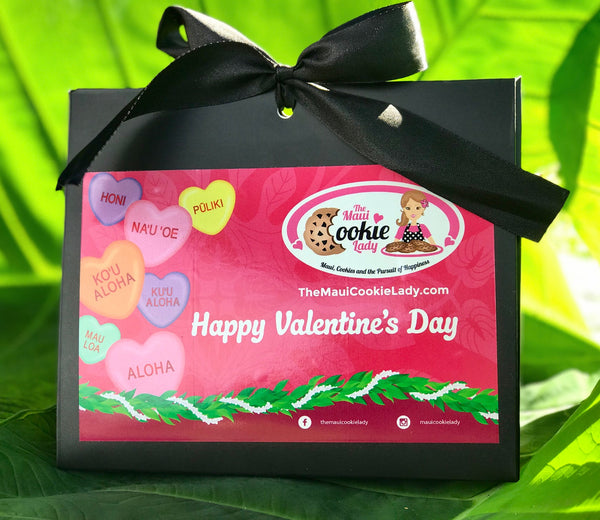 Valentines Box- Sweethearts in Hawaiian