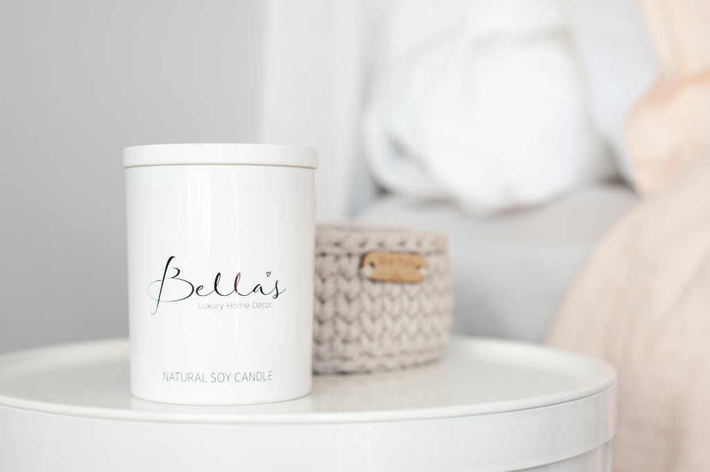 Bella's Signature Candle - Bamboo & White Lily