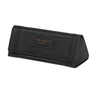 Ted Baker Men's - Glasses Case, Black Brogue