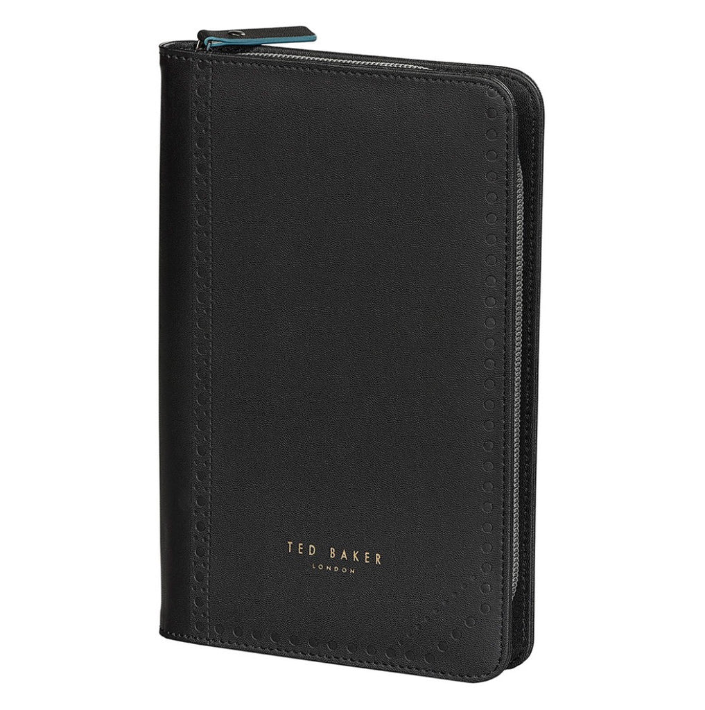 Ted Baker Men's - Travel Organiser, Black Brogue Monkian