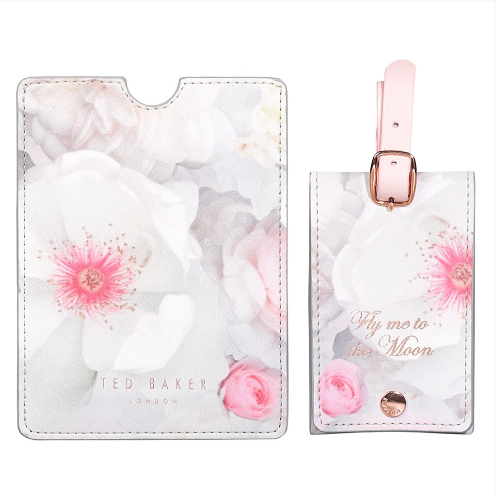 Ted Baker - Luggage Tag and Passport Set, Chelsea Border