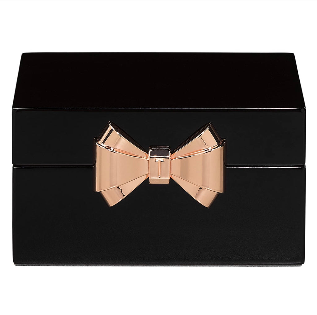 Ted Baker - Small Lacquer Jewellery Box, Black
