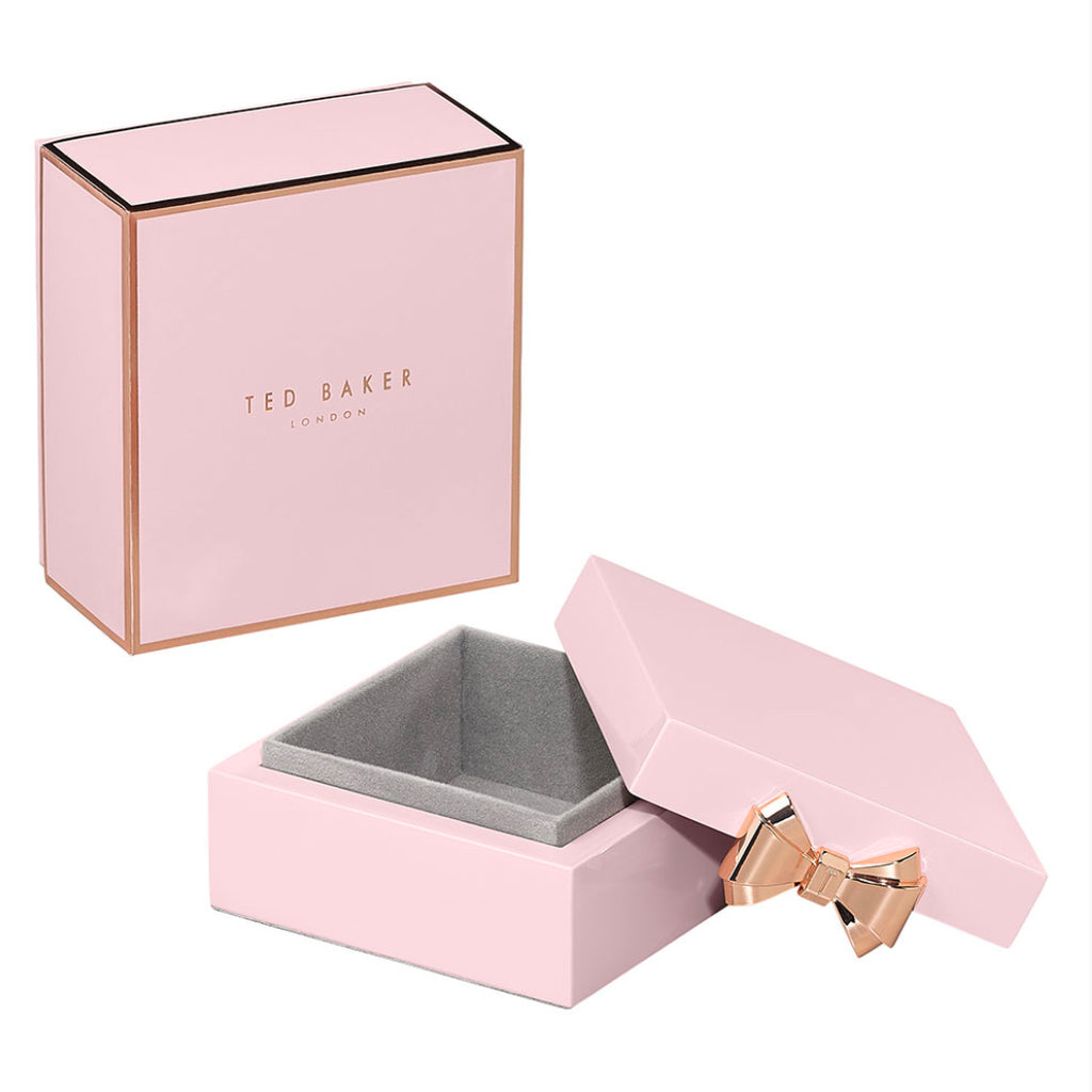 Ted Baker Women's - Small Lacquer Jewellery Box, Pink