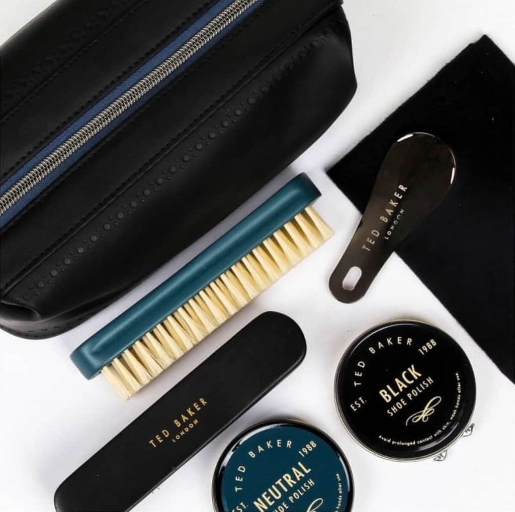 Ted Baker - Shoe Shine Kit, Black Brogue Monkian