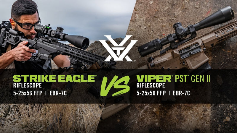 Strike Eagle® 5-25x56 VS Viper® PST™ Gen II 5-25x50
