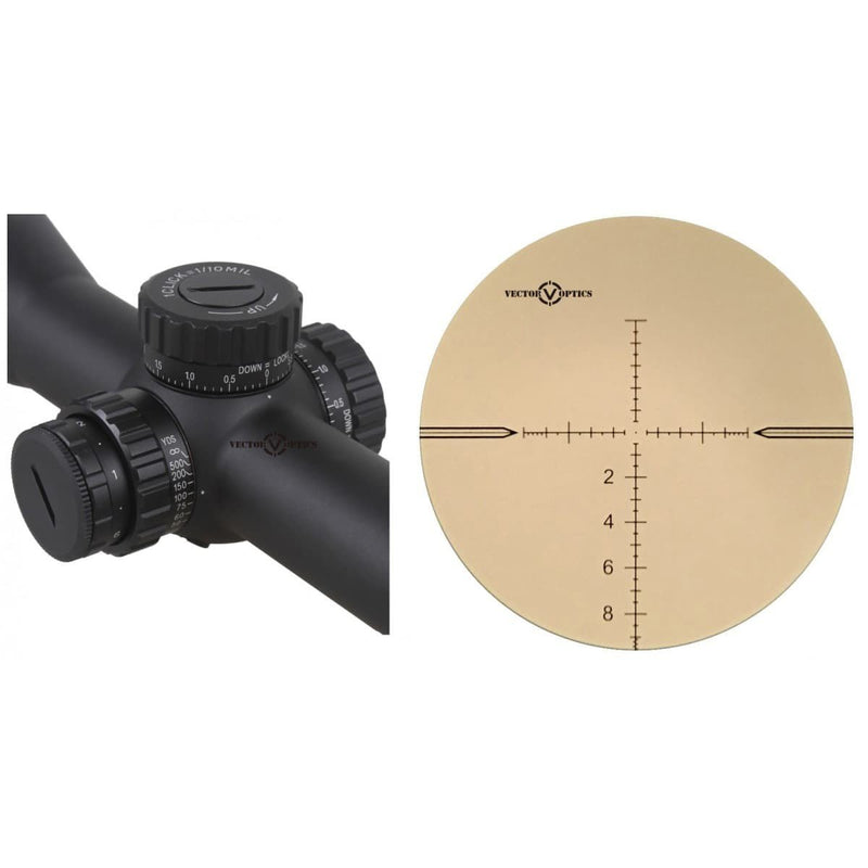 VECTOR TAURUS 3-18X50 FFP RIFLESCOPE
