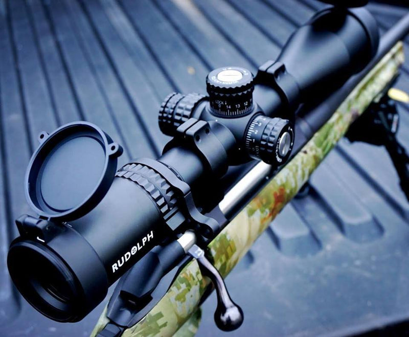 PRE-ORDER: V1 BUDDY SPECIAL !! BUY 2 X RUDOLPH VARMINT V1 5-25x50 RIFLESCOPES 30MM TUBE WITH T3 ILLUMINATED RETICLE