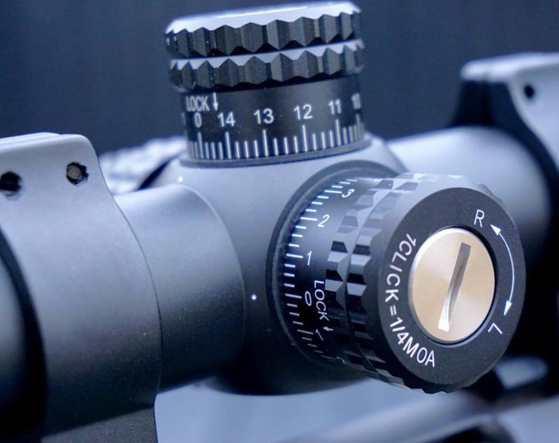 RUDOLPH VARMINT V1 5-25x50 RIFLESCOPE 30MM TUBE WITH T3 ILLUMINATED RETICLE