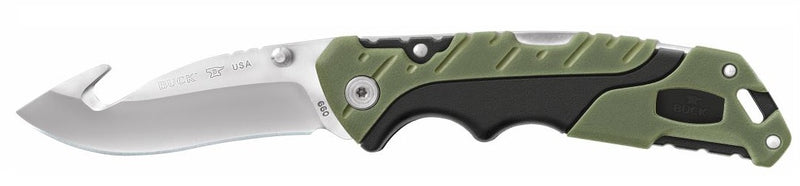 BUCK 660 GRS FOLDING PERSUIT LARGE W/GUTHOOK