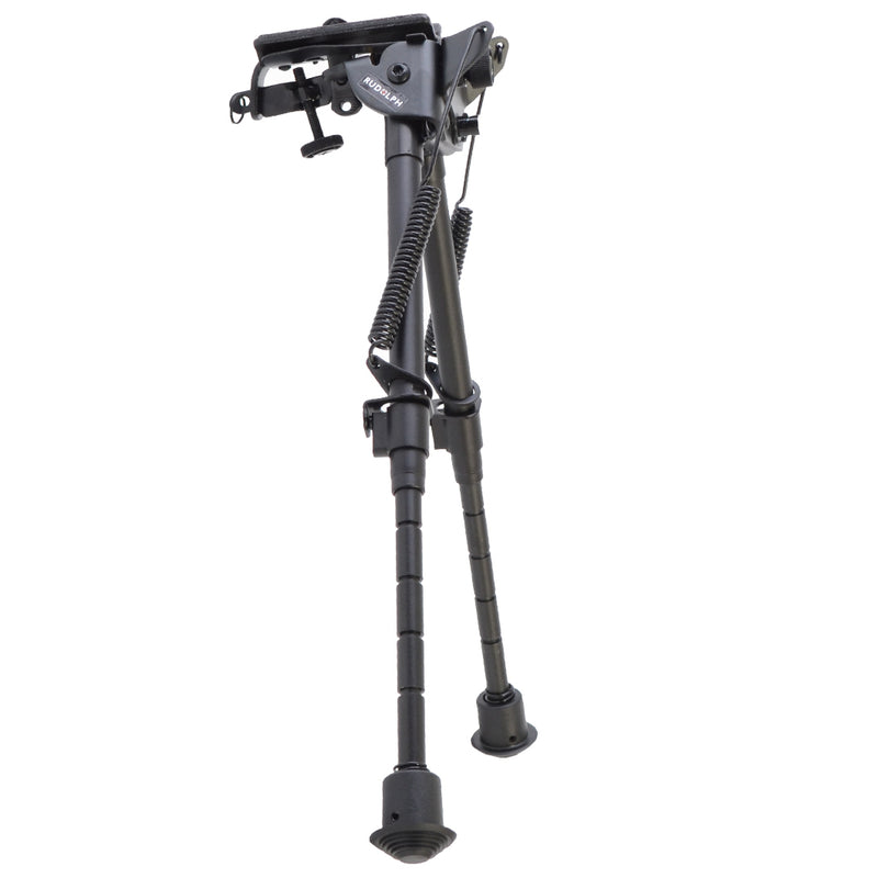 "SWIVEL PIVOT BIPOD - BLACK ALUMINUM 9""-13"""