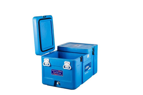 EVAKOOL IceKool 90 Liter Cooler Box With Twin Tub