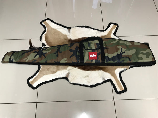 Rifle Bag Deluxe Extra Wide 52″ – 2 Pockets - Camo
