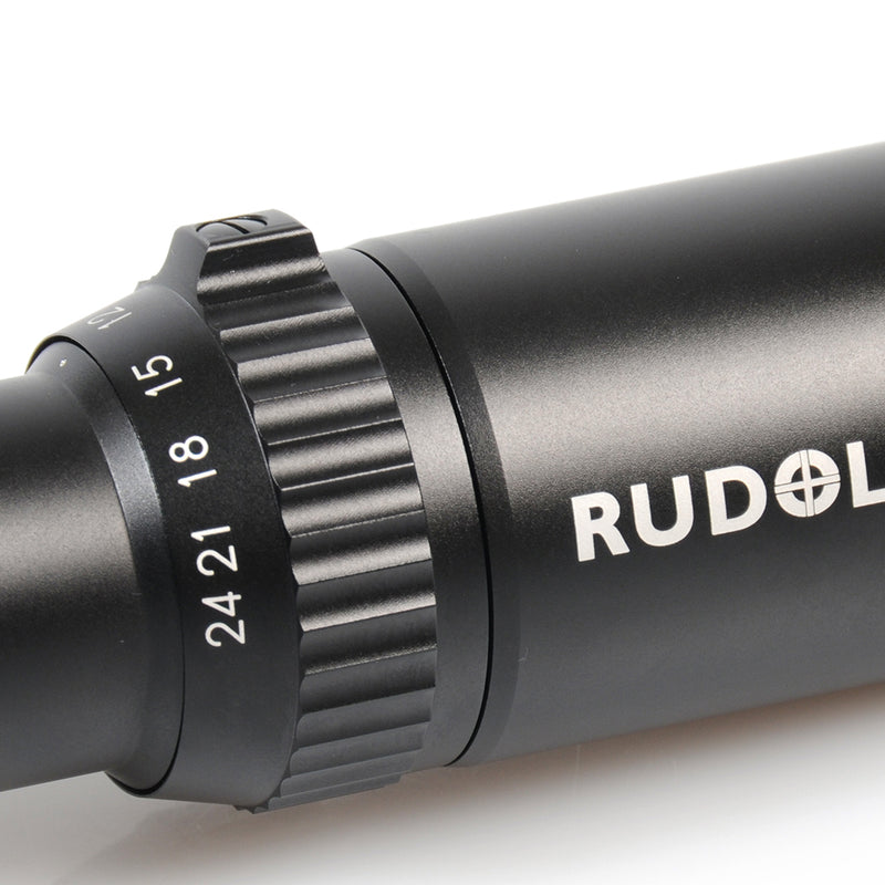 RUDOLPH OPTICS TACTICAL T1 6-24X50 30MM TUBE WITH T3 RETICLE