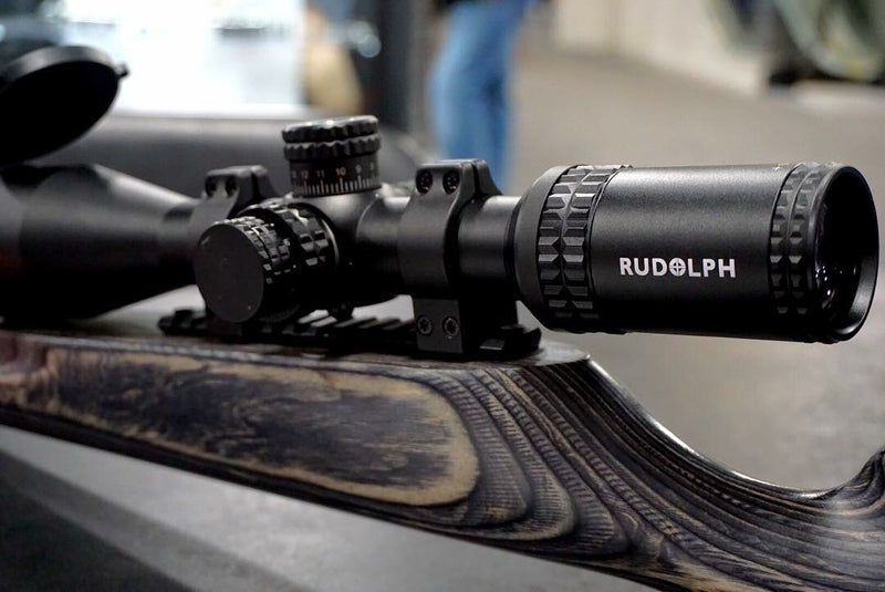 PRE-ORDER (OUT OF STOCK): RUDOLPH V1 5-25x50 T3 ILLUMINATED RETICLE