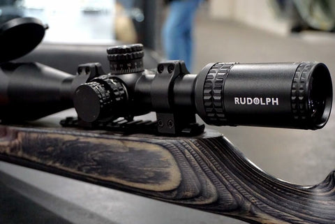 PRE-ORDER: RUDOLPH VARMINT V1 5-25x50 RIFLESCOPE 30MM TUBE WITH T3 ILLUMINATED RETICLE