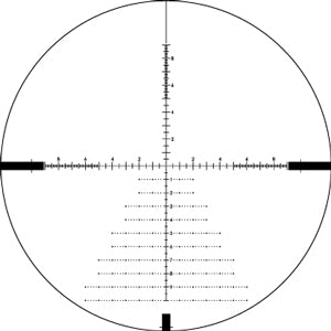 Vortex Diamondback Tactical 4-16x44 FFP EBR-2C (MRAD) Reticle | 30mm Tube | Tactical Turrets