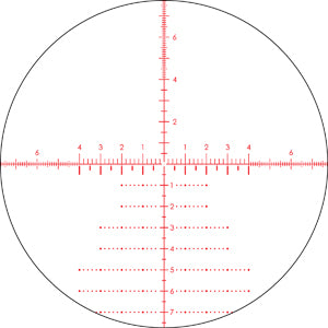 Vortex Razor HD AMG 6-24x50 EBR-7B FFP MRAD / MOA Reticle | 30mm Tube