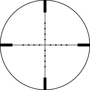 Vortex VIPER® 6.5-20X50 PA Mil Dot (MOA) Reticle | 30 mm Tube