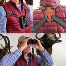 PRE-ORDER (OUT OF STOCK): RUDOLPH BINOCULAR RANGEFINDER 8X42 2000M PLUS FREE QD BINO HARNESS