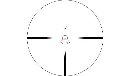 STRIKE EAGLE® 1-6X24 AR-BDC3 (MOA) Reticle | 30 mm Tube
