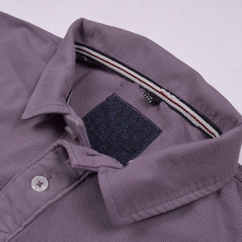 Boston Crew Polo Shirt For Men-Light Purple-BE1034
