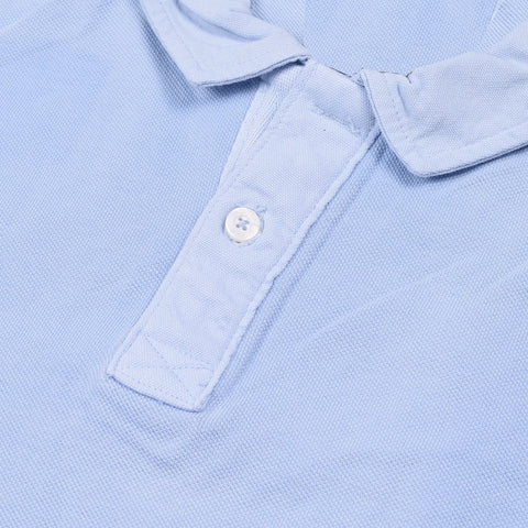 Boston Crew Polo Shirt For Men-Light Sky-BE1048
