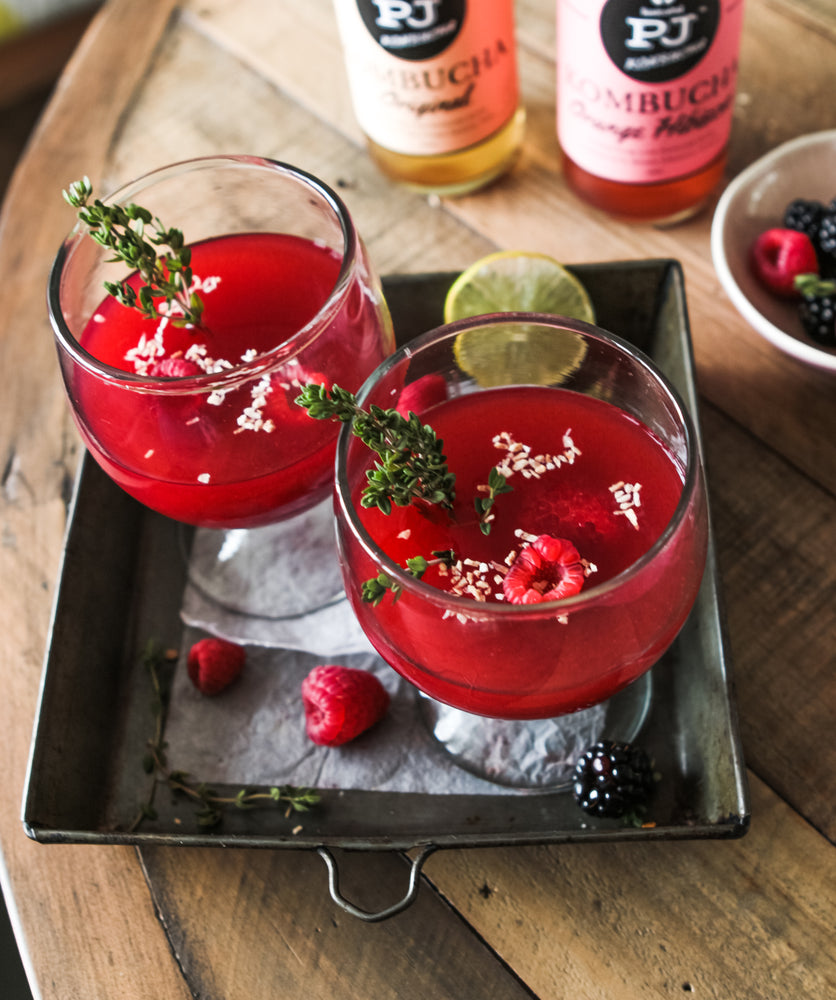 Kombucha Berry Cocktail