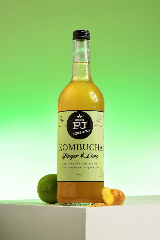 Load image into Gallery viewer, Ginger & Lime Kombucha