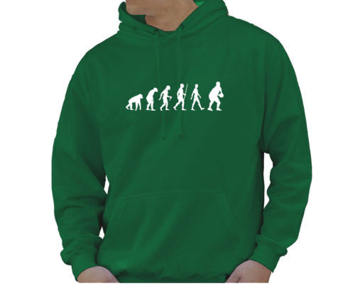 Adult Unisex Kids Evolution Hoodie Ape To Man Evo Rugby Hoody