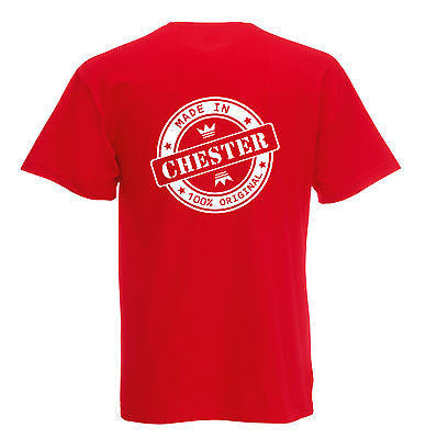 Juko Made In Chester T Shirt 100% Original