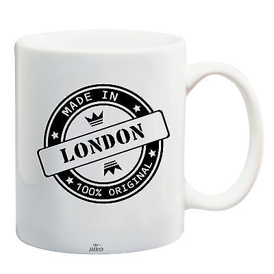 Juko Made In London Mug 100% Original Coffee Cup Gift Idea