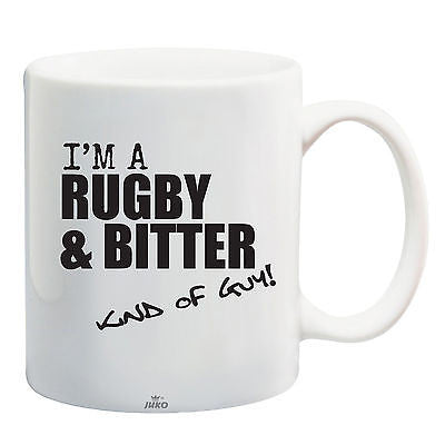Juko I'm A Rugby And Bitter Kind Of Guy World Cup Tea Coffee Mug - Juko