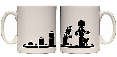Juko Evolution Ape To Man Lego Evo Tea Coffee Lego Man Cup