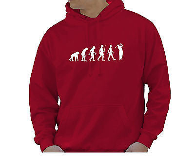 Adult Unisex Kids Evolution Hoodie Ape To Man Evo Golf Hoody - Juko