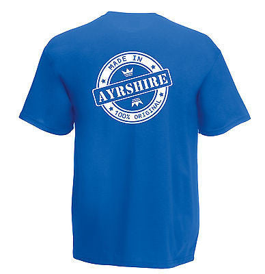 Juko Children's Made In Ayrshire T Shirt 100% Original