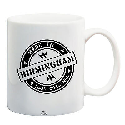 Juko Made In Birmingham Mug 100% Original Coffee Cup Gift Idea