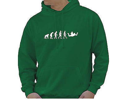 Adult Unisex Kids Evolution Hoodie Ape To Man Evo Sky Diver Hoody
