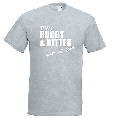 Juko I'm A Rugby And Bitter Kind Of Guy T Shirt