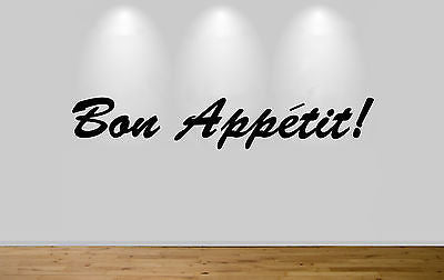 Juko Bon Appetit Kitchen Wall Sticker Decal Kitchen Art